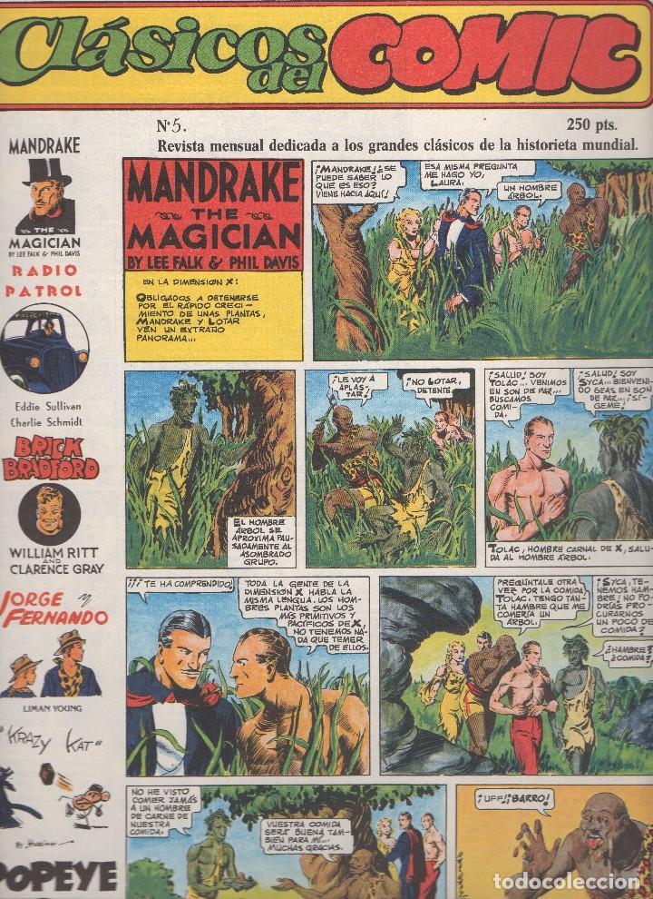 Tebeos: CLASICOS DEL COMIC colección completa de los 13 números publicados por Editorial Complot en 1.988 - Foto 4 - 163927362
