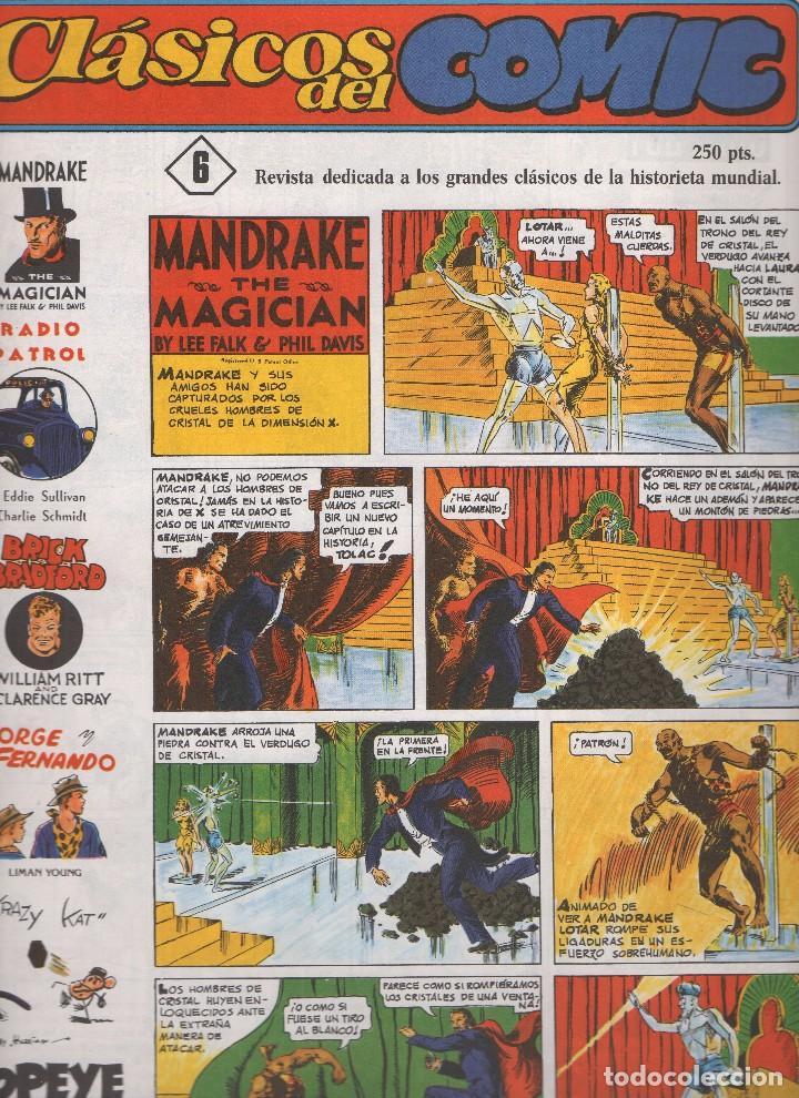Tebeos: CLASICOS DEL COMIC colección completa de los 13 números publicados por Editorial Complot en 1.988 - Foto 5 - 163927362