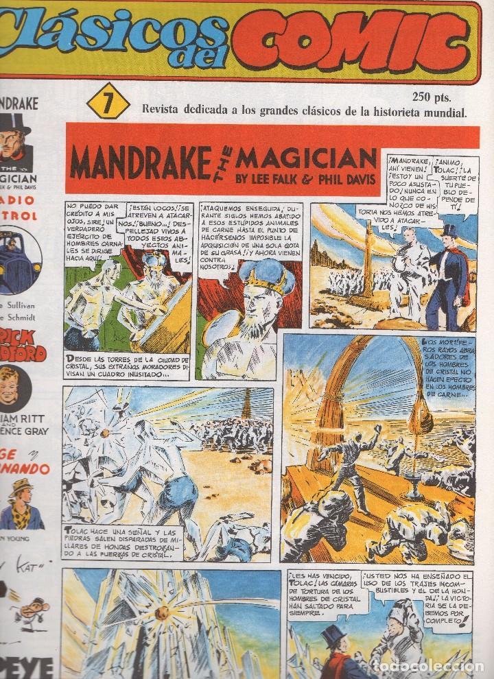 Tebeos: CLASICOS DEL COMIC colección completa de los 13 números publicados por Editorial Complot en 1.988 - Foto 6 - 163927362