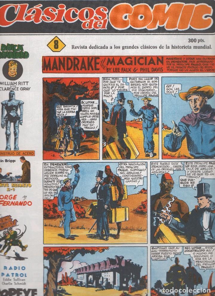 Tebeos: CLASICOS DEL COMIC colección completa de los 13 números publicados por Editorial Complot en 1.988 - Foto 7 - 163927362