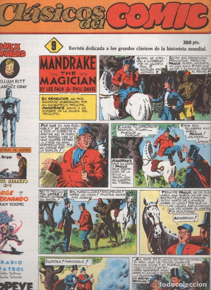 Tebeos: CLASICOS DEL COMIC colección completa de los 13 números publicados por Editorial Complot en 1.988 - Foto 8 - 163927362
