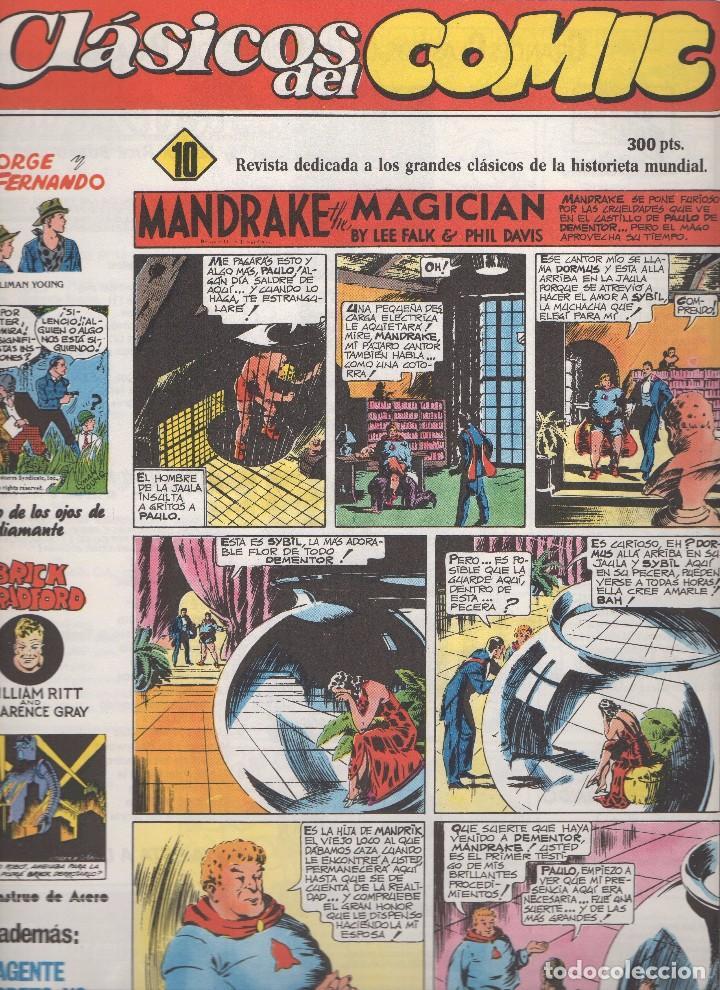 Tebeos: CLASICOS DEL COMIC colección completa de los 13 números publicados por Editorial Complot en 1.988 - Foto 9 - 163927362