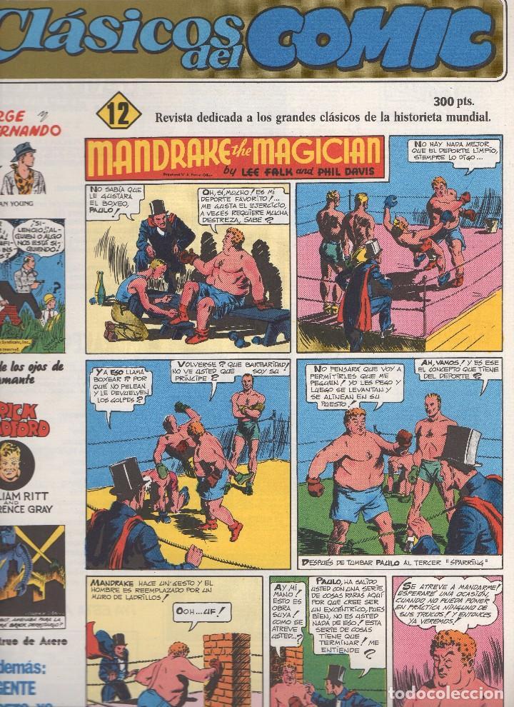 Tebeos: CLASICOS DEL COMIC colección completa de los 13 números publicados por Editorial Complot en 1.988 - Foto 11 - 163927362