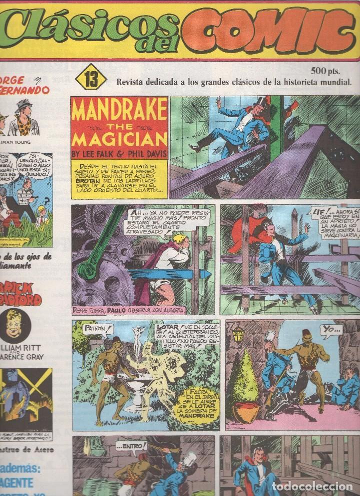 Tebeos: CLASICOS DEL COMIC colección completa de los 13 números publicados por Editorial Complot en 1.988 - Foto 12 - 163927362
