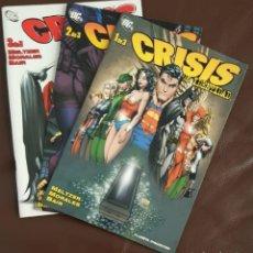 Tebeos: SUPERMAN -CRISIS DE IDENTIDAD, DC (PLANETA DEAGOSTINI -2006) COMPLETA 3 NºS, VER DESCRIPCIÓN Y FOTOS. Lote 164177718