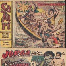 Tebeos: LOTE DE CUATRO COMICS ANTIGUOS DE DISTINTAS EDITORIALES . Lote 164625138