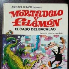 Tebeos: ASES DEL HUMOR Nº 5, MORTADELO Y FILEMÓN - EL CASO DEL BACALAO, (1979) BUENO - VER FOTOS. Lote 164730286