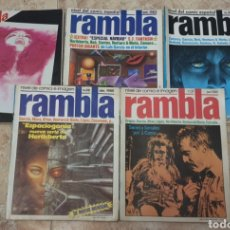 Tebeos: LOTE 5 REVISTAS RAMBLA. Lote 164757900