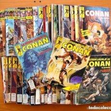 Tebeos: LA ESPADA SALVAJE DE CONAN - EDICIONES FORUM / PLANETA 1982 - LOTE DE 53 EJEMPLARES . Lote 164796846
