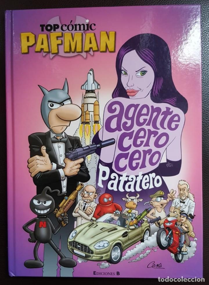 PAFMAN - AGENTE CERO CERO PATATERO - TAPA DURA, EDICIONES B - VER FOTOS (Tebeos y Comics - Tebeos Colecciones y Lotes Avanzados)