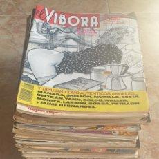Tebeos: GRAN LOTE 41 TEBEOS COMIC EL VIBORA AÑOS 80 Y 90. Lote 165078037
