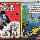 Tebeos: LAS AVENTURAS DE ESPIRU Y FANTASIO. 2 EJEMP. JAIMES LIBROS. 1964/66.. Lote 165201262