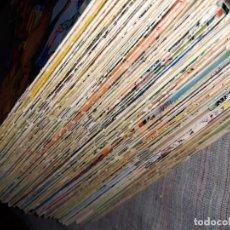 Tebeos: LOTE DE 100 NUMEROS DEL GUERRERO DEL ANTIFAZ 1973. Lote 165248910