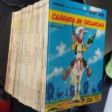Tebeos: GRAN LOTE LUCKY LUKE 37 NºS DE 1980 A 1989, SEGUIDOS, - VER FOTOS, NºS Y TÍTULOS. Lote 165311310