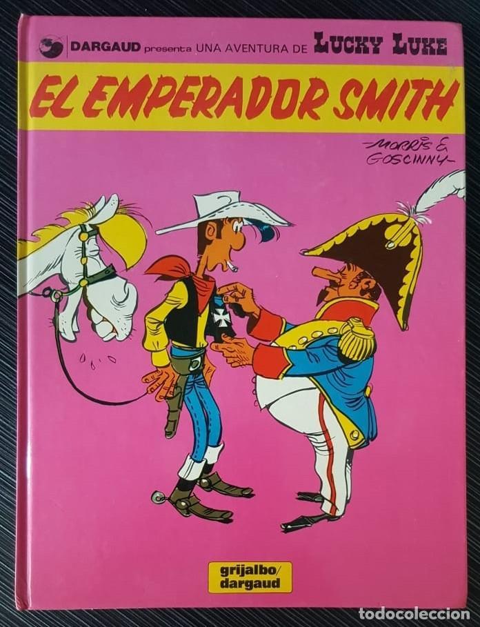 Tebeos: GRAN LOTE LUCKY LUKE 37 NºS DE 1980 A 1989, SEGUIDOS, - VER FOTOS, NºS Y TÍTULOS - Foto 2 - 165311310