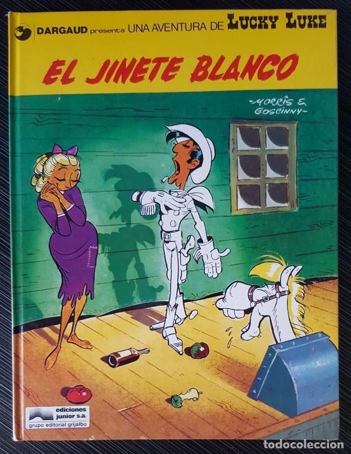 Tebeos: GRAN LOTE LUCKY LUKE 37 NºS DE 1980 A 1989, SEGUIDOS, - VER FOTOS, NºS Y TÍTULOS - Foto 3 - 165311310