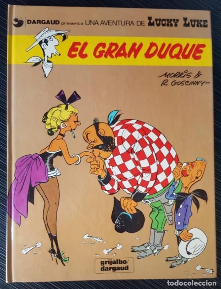 Tebeos: GRAN LOTE LUCKY LUKE 37 NºS DE 1980 A 1989, SEGUIDOS, - VER FOTOS, NºS Y TÍTULOS - Foto 4 - 165311310