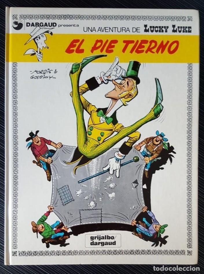 Tebeos: GRAN LOTE LUCKY LUKE 37 NºS DE 1980 A 1989, SEGUIDOS, - VER FOTOS, NºS Y TÍTULOS - Foto 5 - 165311310