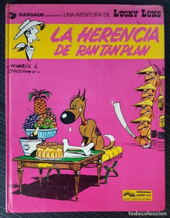 Tebeos: GRAN LOTE LUCKY LUKE 37 NºS DE 1980 A 1989, SEGUIDOS, - VER FOTOS, NºS Y TÍTULOS - Foto 7 - 165311310