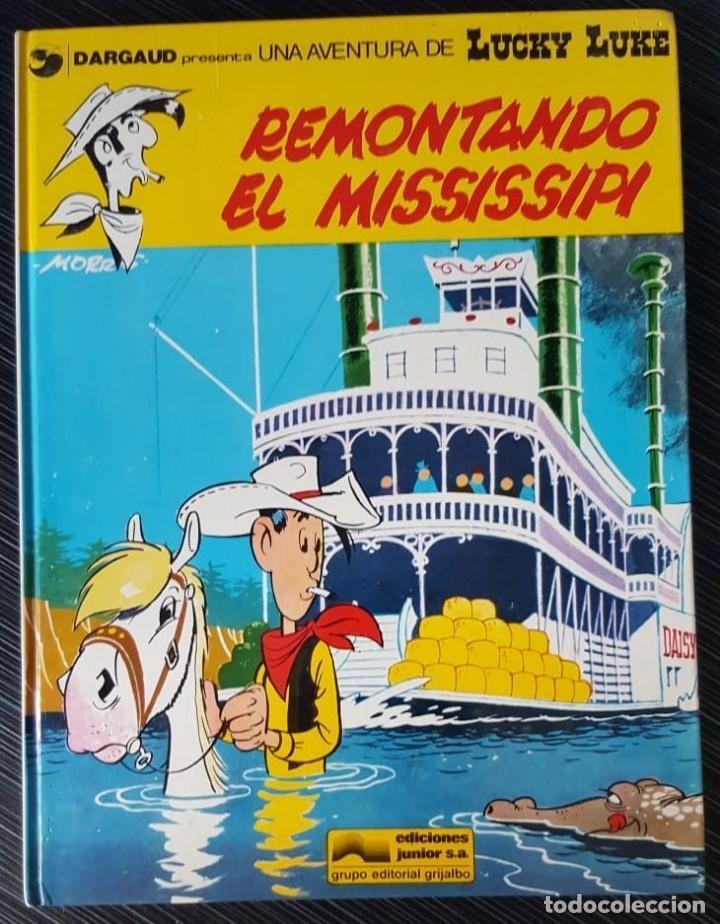 Tebeos: GRAN LOTE LUCKY LUKE 37 NºS DE 1980 A 1989, SEGUIDOS, - VER FOTOS, NºS Y TÍTULOS - Foto 10 - 165311310
