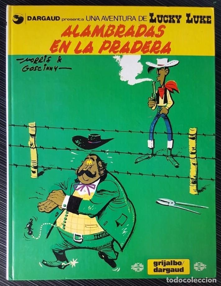 Tebeos: GRAN LOTE LUCKY LUKE 37 NºS DE 1980 A 1989, SEGUIDOS, - VER FOTOS, NºS Y TÍTULOS - Foto 31 - 165311310