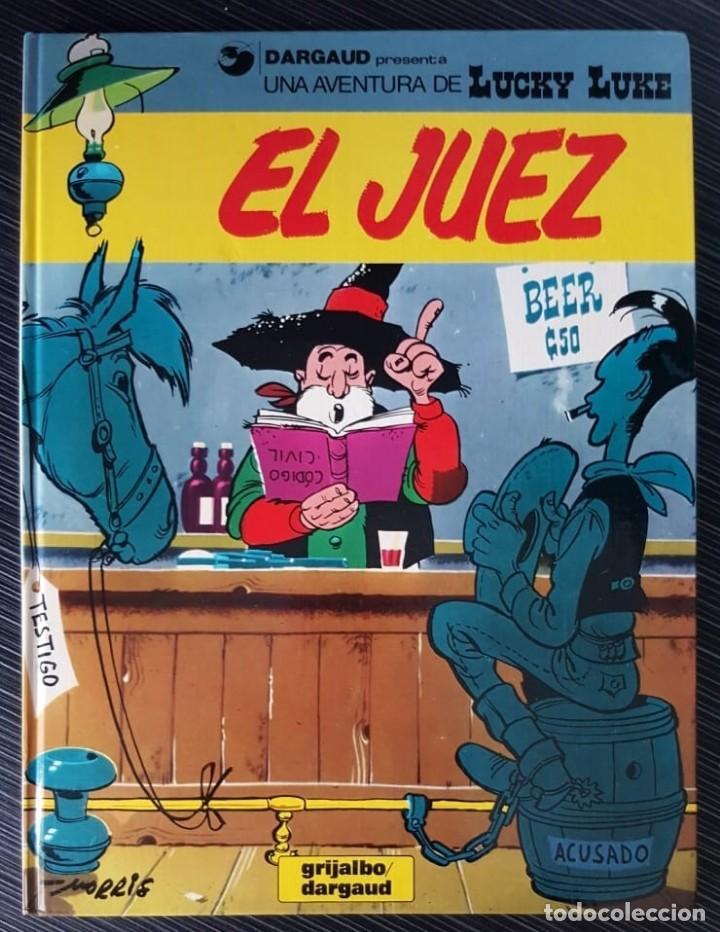 Tebeos: GRAN LOTE LUCKY LUKE 37 NºS DE 1980 A 1989, SEGUIDOS, - VER FOTOS, NºS Y TÍTULOS - Foto 35 - 165311310