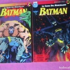 Tebeos: BATMAN LA CAIDA DEL MURCIELAGO 2 TOMOS COMPLETA ZINCO EXCELENTE . Lote 165402794