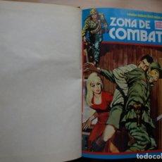 Tebeos: ZONA DE COMBATE TOMO CÓN DIEZ NÚMEROS - TORAY - VER NÚMERACION Y PORTADAS. Lote 165806638