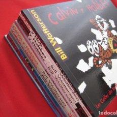 Tebeos: CALVIN Y HOBBES---COMPLETA--NUEVA 11 TOMOS -MARIO AYUSO EDITOR--BILL WATERSON---NUEVA. Lote 165888318