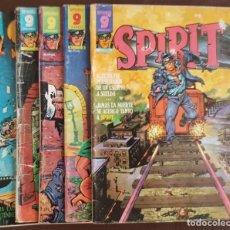 Tebeos: SPIRIT, (GARBO, 1975) NºS, 4, 6, 8, 9 Y 11, - VER FOTOS. Lote 166180002