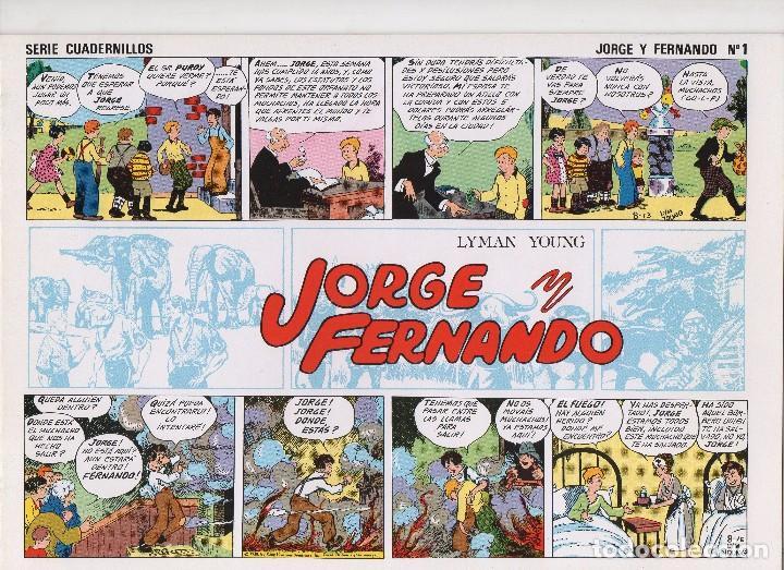 JORGE Y FERNANDO POR LYMAN YOUNG (Tebeos y Comics - Tebeos Colecciones y Lotes Avanzados)