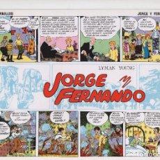 Tebeos: JORGE Y FERNANDO POR LYMAN YOUNG. Lote 166258182