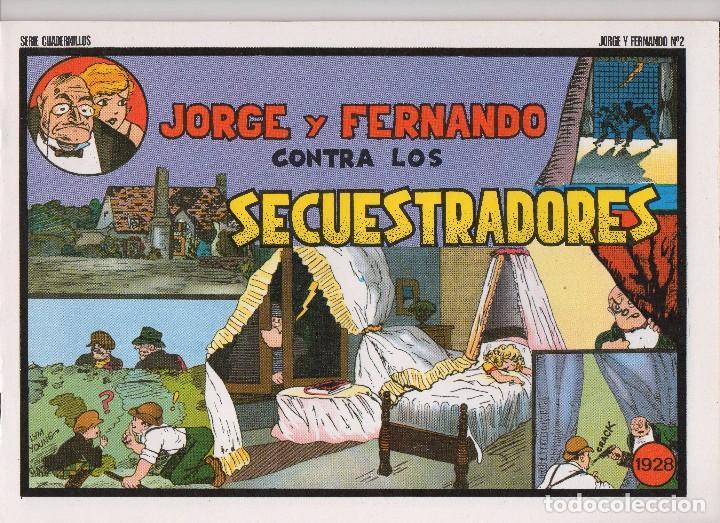 Tebeos: JORGE Y FERNANDO por Lyman Young - Foto 2 - 166258182