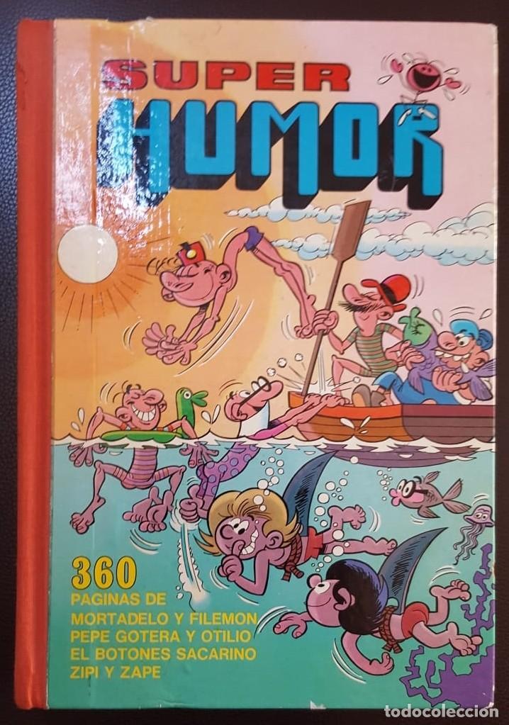 SUPER HUMOR VOLUMEN I (1 EN ROMANO) 1ª EDICIÓN DE 1975 - BRUGUERA - VER FOTOS Y DESCRIPCIÓN (Tebeos y Comics - Tebeos Colecciones y Lotes Avanzados)