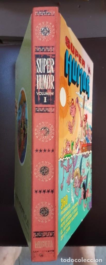 Tebeos: SUPER HUMOR VOLUMEN I (1 EN ROMANO) 1ª EDICIÓN DE 1975 - BRUGUERA - VER FOTOS Y DESCRIPCIÓN - Foto 2 - 166346738