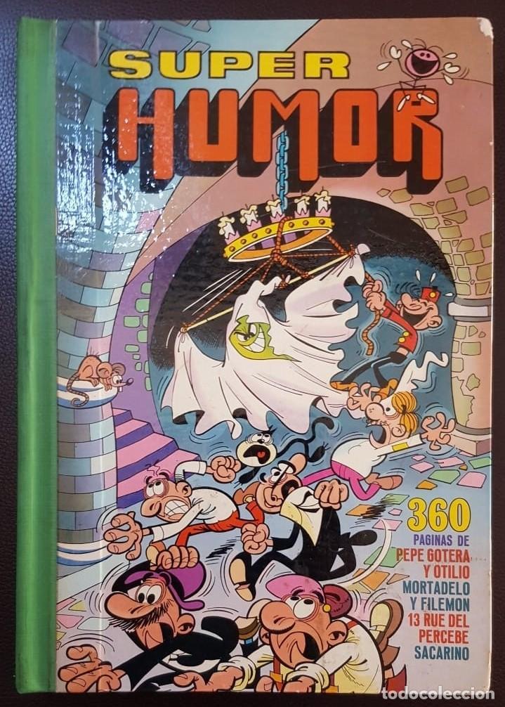 SUPER HUMOR VOLUMEN VII (7 ROMANO) 1ª EDICIÓN DE 1975 (DIFICIL) - BRUGUERA - VER FOTOS Y DESCRIPCIÓN (Tebeos y Comics - Tebeos Colecciones y Lotes Avanzados)