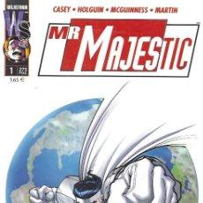 Tebeos: MR. MAJESTIC. WORLD COMICS 2000. COLECCIÓN COMPLETA (9 EJEMPLARES). Lote 166516537