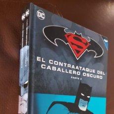 Tebeos: BATMAN SUPERMAN - EL CONTRAATAQUE DEL CABALLERO OSCURO, COMPLETA,1 Y 2-, VER DESCRIPCIÓN Y FOTOS. Lote 166613906