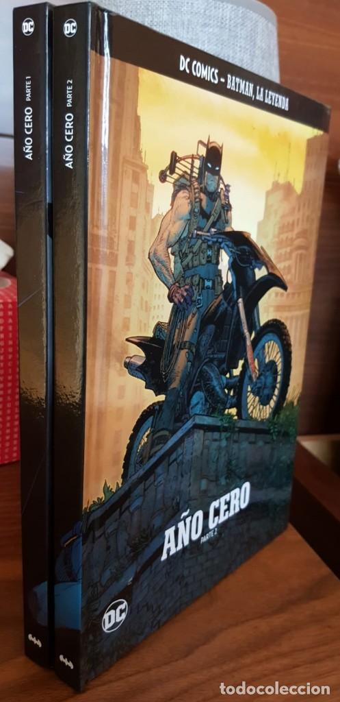 2 TOMOS - BATMAN LA LEYENDA - AÑO CERO - DC, COMICS, -EXCELENTES, VER FOTOS Y DESCRIPCIÓN (Tebeos y Comics - Tebeos Colecciones y Lotes Avanzados)