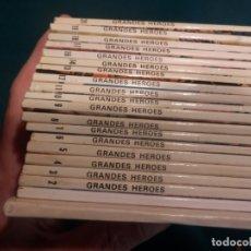 Tebeos: LOTE 19 CÓMICS - GRANDES HÉROES - EL DESCUBRIMIENTO DEL MUNDO (DARWIN-LIVINGSTONE-COOK-COLON-CORTES. Lote 166738126