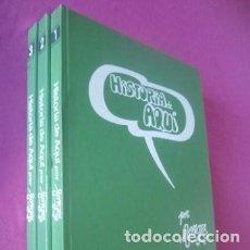 Livros de Banda Desenhada: HISTORIA DE AQUI FORGES 3 TOMOS COMPLETA BRUGUERA.. Lote 166878448