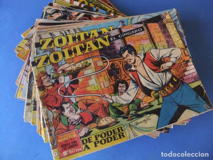 ZOLTAN EL CINGARO COLECCION COMPLETA ORIGINAL (Tebeos y Comics - Tebeos Colecciones y Lotes Avanzados)