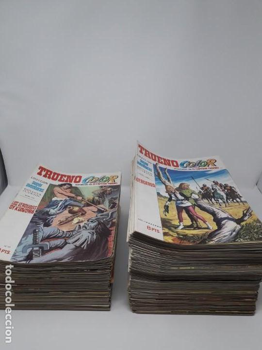 64: LOTE DE 237 NÚMEROS DE CAPITÁN TRUENO COLOR DE LA EDITORIAL BRUGUERA!!!! (Tebeos y Comics - Tebeos Pequeños Lotes de Conjunto)