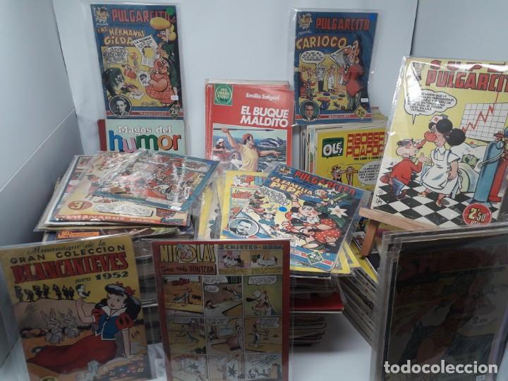 66: ESPECTACULAR LOTE DE UNOS 275 TEBEOS, SUELTOS Y ENCUADERNADOS!! VARIAS COLECCIONES!!!! (Tebeos y Comics - Tebeos Pequeños Lotes de Conjunto)
