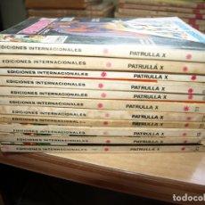 Tebeos: PATRUIIA X - LOTE DE 11 NÚMEROS - FORMATO TACO - VERTICE - VER FOTOS DE TODAS LAS PORTADAS. Lote 167547256