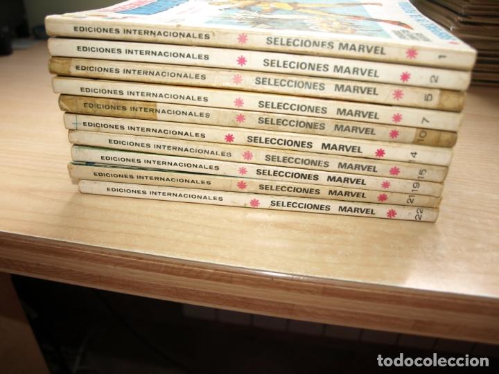 SELECCIONES MARVEL - LOTE DE 10 NÚMEROS - FORMATO TACO - VERTICE - VER FOTOS DE TODAS LAS PORTADAS (Tebeos y Comics - Tebeos Pequeños Lotes de Conjunto)