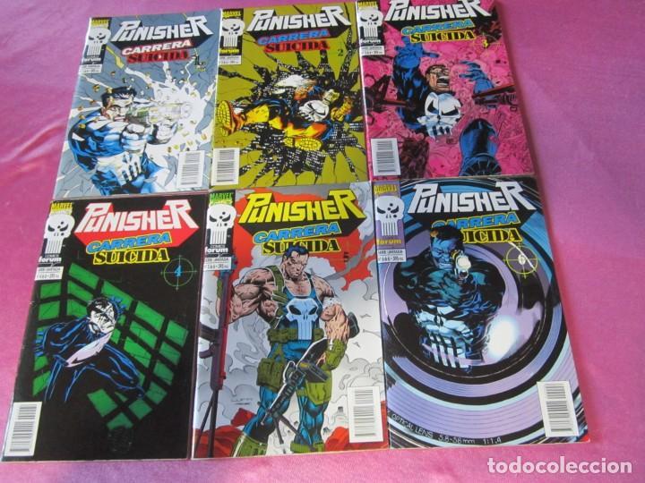 PUNISHER CARRERA SUICIDA 6 COMPLETA FORUM. (Tebeos y Comics - Tebeos Colecciones y Lotes Avanzados)