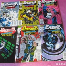 Tebeos: PUNISHER CARRERA SUICIDA 6 COMPLETA FORUM.. Lote 167878408