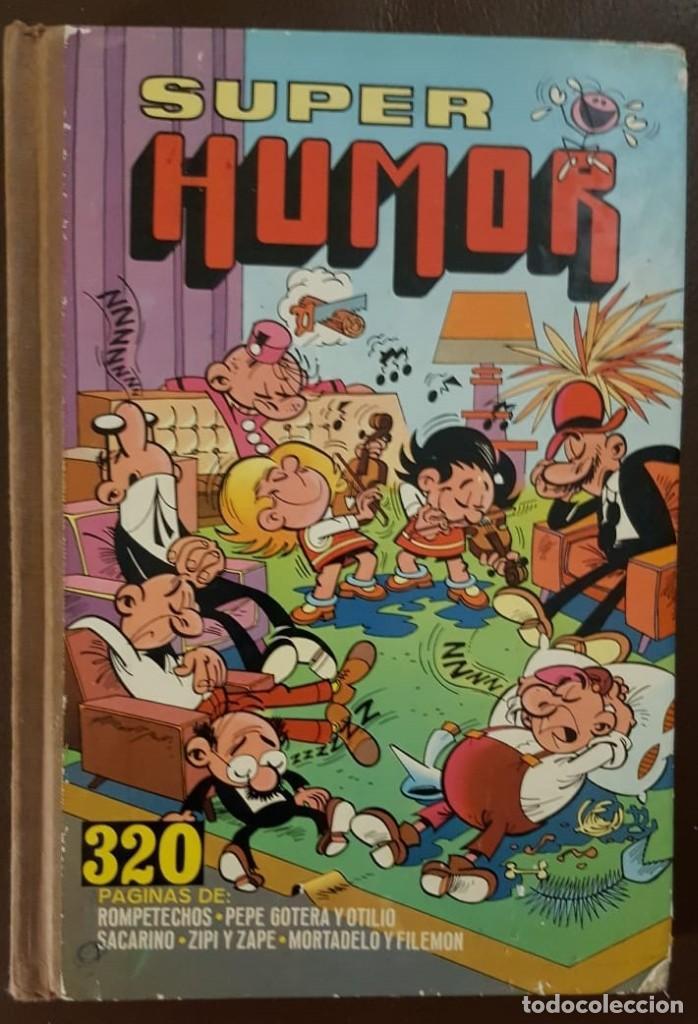 SUPER HUMOR VIII (8) 3ª EDICIÓN (1981) BRUGUERA, VER FOTOS Y DESCRIPCIÓN (Tebeos y Comics - Tebeos Colecciones y Lotes Avanzados)