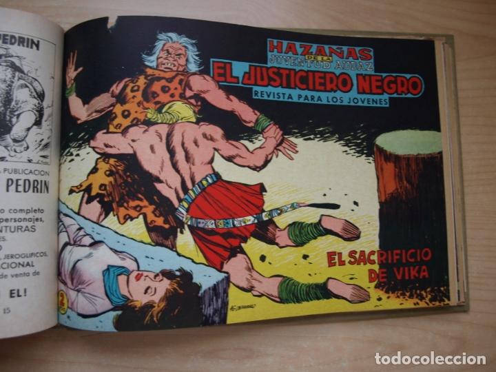 Tebeos: EL JUSTICIERO NEGRO - COLECCION COMPLETA - .24 NÚMEROS - VALENCIANA - Foto 13 - 168296604